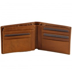 Genuine Leather Men's Wallet - 7011