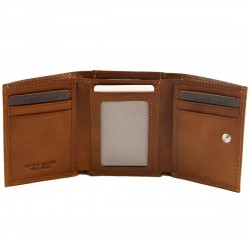 Genuine Leather Men's Wallet - 7017