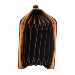 Leather Credit Card Holder - 7037