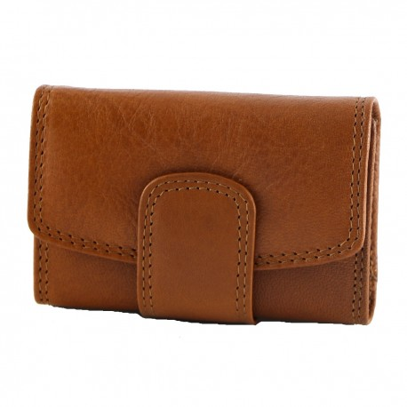 Porte Cartes Cuir Veritable - 7041