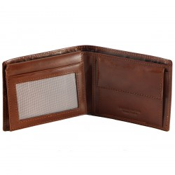 Leather Wallet For Men - 7054