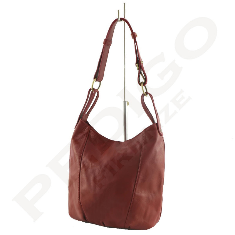 Leather Bag Women - 1001 - Shoulder / Shopper Bags - Made in Italy