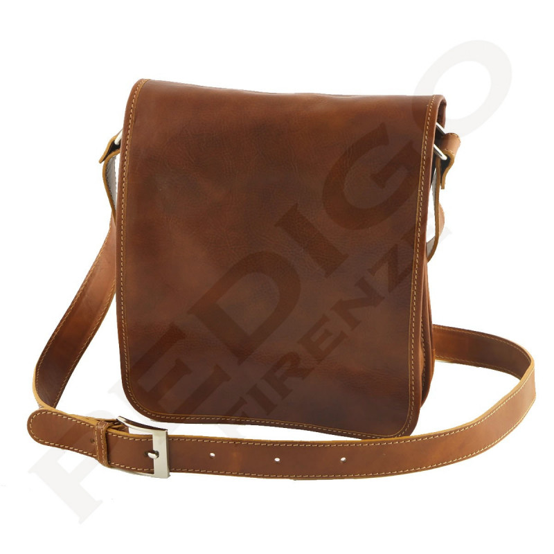 Leather Man Bag - 2001 - Mens Shoulder Bags - Made in Italy