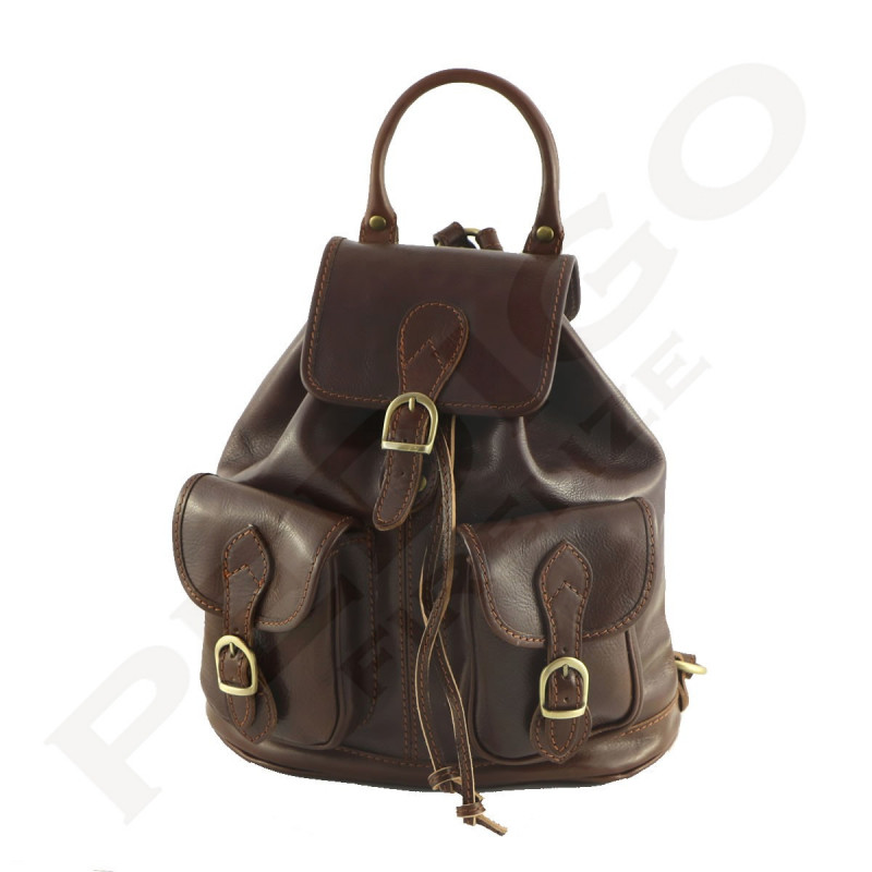 393ded50d0 Leather Backpack - 0001 - Luxury Genuine Leather Bags - Made in Italy