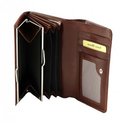 Womens Leather Wallets - 7076