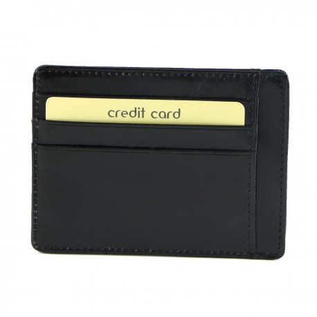 Leather Credit Card Holder - 7092