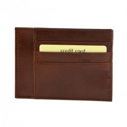 Porte Carte en Cuir Veritable - 7094