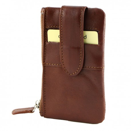Leather Coin Holder - 7095