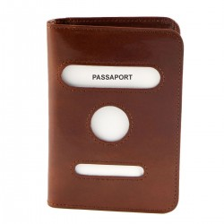Leather Passport Cover - 7100
