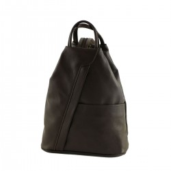 Leather Backpacks - 3003 - Genuine Leather Bag