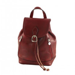 Leather Backpacks - 3004 - Small - Genuine Leather Bag