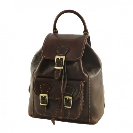 Genuine Leather Backpack - 3006 - Genuine Leather Bags