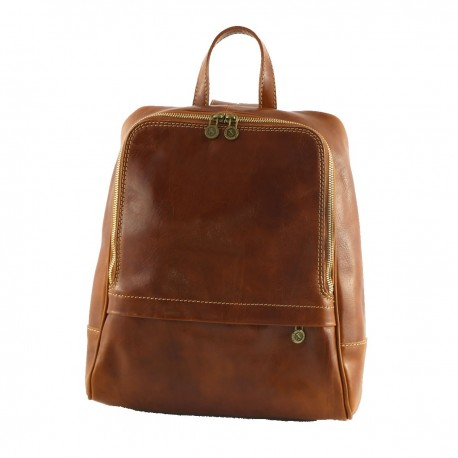 Leather Backpack - 3008 - Genuine Leather Bags