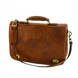 Leather Briefcases - 4002 - Genuine Leather Bags