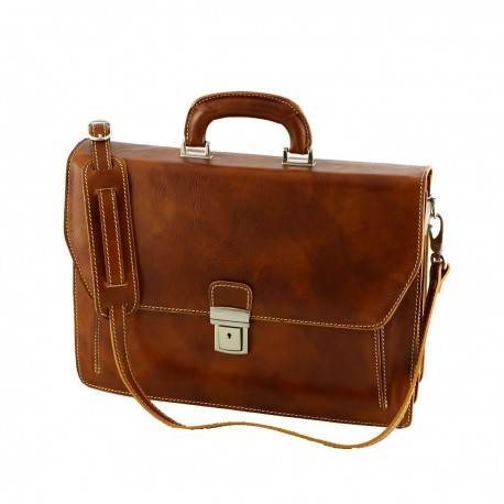 Leather Briefcases - 4010 - Genuine Leather Bags