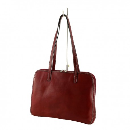 Genuine Leather Briefcase - 4011 - Genuine Leather Bags