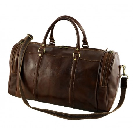 Leather Travel Bags - 6002 - Genuine Leather Bag