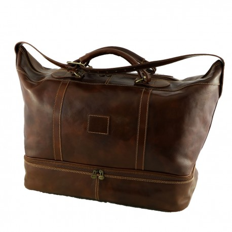Leather Traveller Bags - 6003 - Genuine Leather Bag