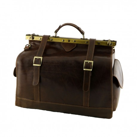 Travel Leather Bags - 6004 - Genuine Leather Bag