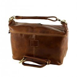 Travel Bag Leather - 6005 - Genuine Leather Bags