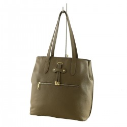 Leather Shopper Bag - 1021 - Leather Shoulder Bags