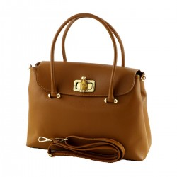 Leather Shoulder Bag - 1022 - Women Leather Bags