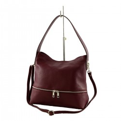Borsa Shopper in Pelle - 1023 - Borse DonnaTracolla