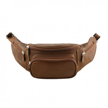 Leather Waist Bags - 2008 - Men Leather Bag