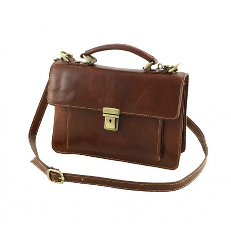 Men's Leather Hand Bags - 2018 - Genuine Leather Bag