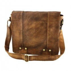 Leather Messenger Bags - 2024 - Genuine Leather Bag