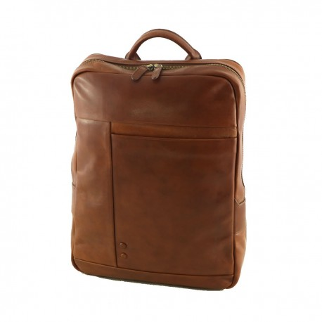 Leather Backpack - 3010 - Genuine Leather Bags