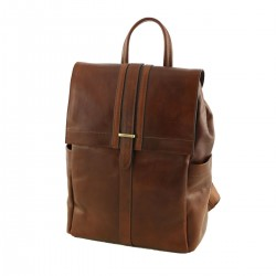 Leather Backpacks - 3012 - Genuine Leather Bags