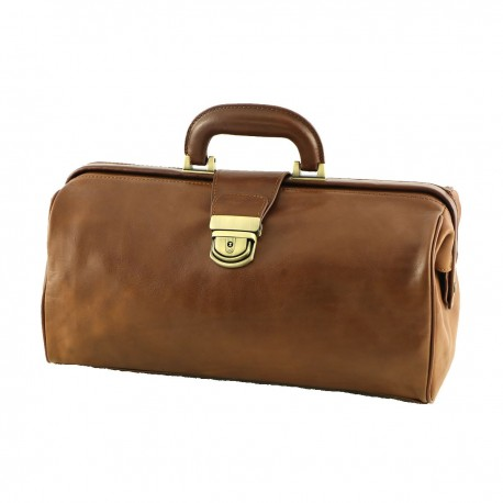 Medical Bag Leather - 5005 - Genuine Leather Bags