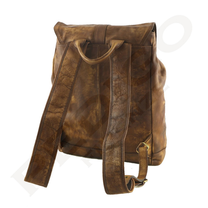 Genuine Leather Backpack - 3013 - Genuine Leather Bags 09d5236dd7