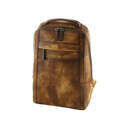 Genuine Leather Backpackas - 3014 - Genuine Leather Bags