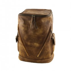 Genuine Leather Backpacks - 3015 - Genuine Leather Bag