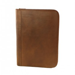 Leather Document Folder - 4014 - Genuine Leather Bags