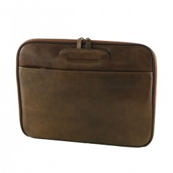 Genuine Leather Document Folder - 4015 - Genuine Leather Bags