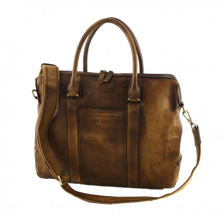 Leather Briefcase - 4016 - Genuine Leather Bags
