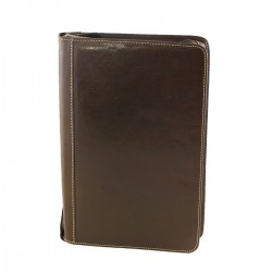 Leather Document Folder A4 - 4017 - Genuine Leather Bags