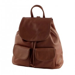 Genuine Leather Backpack - 3005 - Large - Genuine Leather Bags