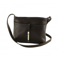 Leather Shoulder Bag - 1031 - Genuine Leather Bags