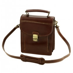 Leather Man Bag - 2034 - Genuine Leather Bags