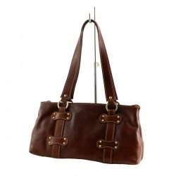 Leather Shoulder Bag - 1034 - Genuine Leather Bags