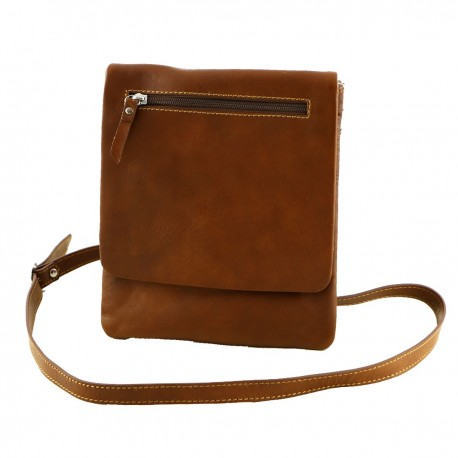 Leather Man Bag - 2039 - Genuine Leather Bags