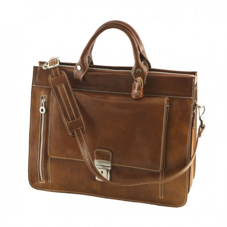 Leather Briefcases - 4030 - Genuine Leather Bags