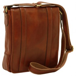 Genuine Leather Man Bag - FLB0310 - Leather Bags Florentine