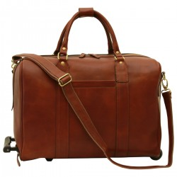 Genuine Leather Bag/Trolley - FLB0312 - Leather Bags Florentine