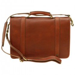 Genuine Leather Briefcase - FLB0315 - Leather Bags Florentine
