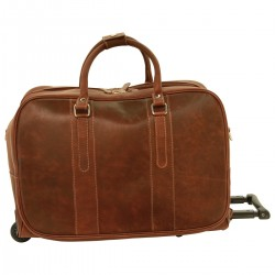 Genuine Leather Bag/Trolley - NW0024 - Leather Bags New World